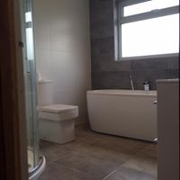 Full bathroom refit including plumbing, tiling and design
