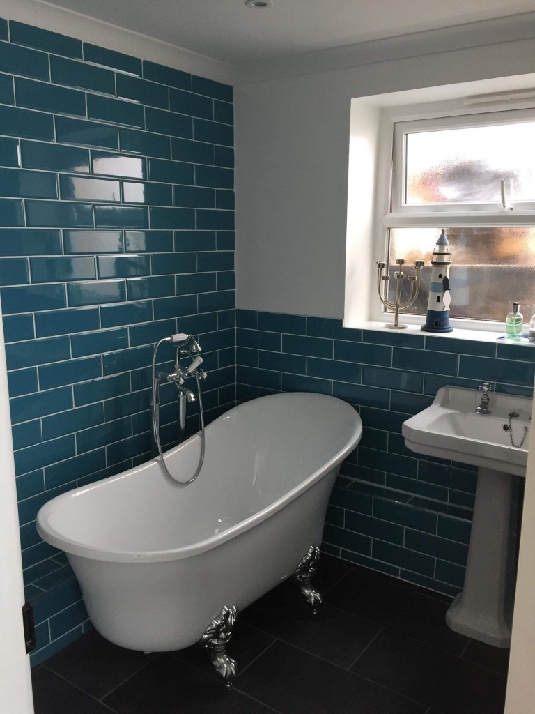 Bathroom refit in a stunning Victorian House